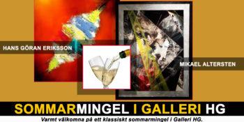 Sommarmingel den 31 maj i Galleri HG